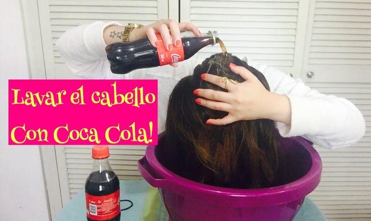 LAVAR CABELLO CON COCA COLA