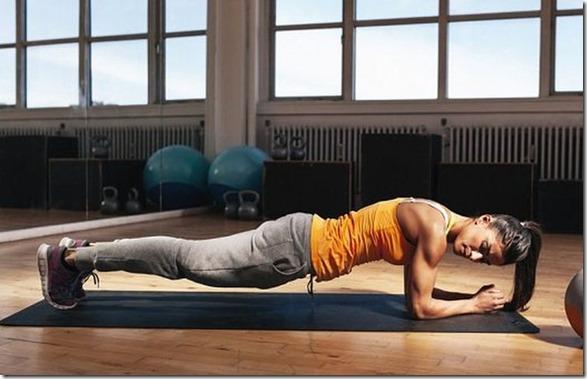 plank ejercicio