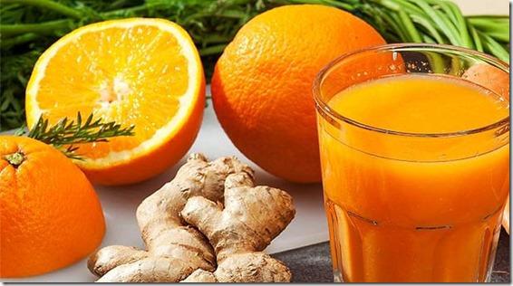 receta-bebidas-smoothie-naranja-jengibre